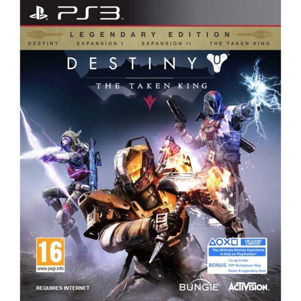 1Игра за PS3 - Destiny: The Taken King Legendary Edition