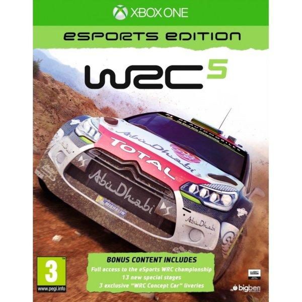 1Игра за Xbox One - WRC 5 Esports Edition