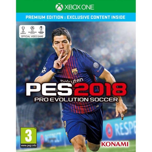 1Игра за Xbox One - Pro Evolution Soccer 2018 Premium Edition