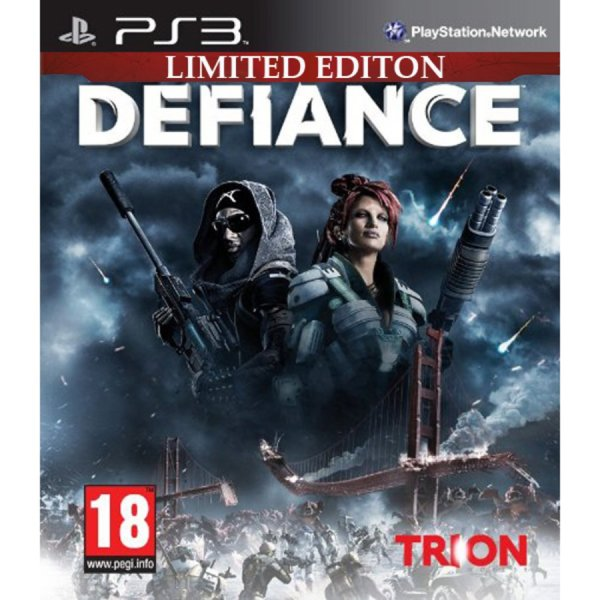1Игра за PS3 - The Defiance Limited Edition