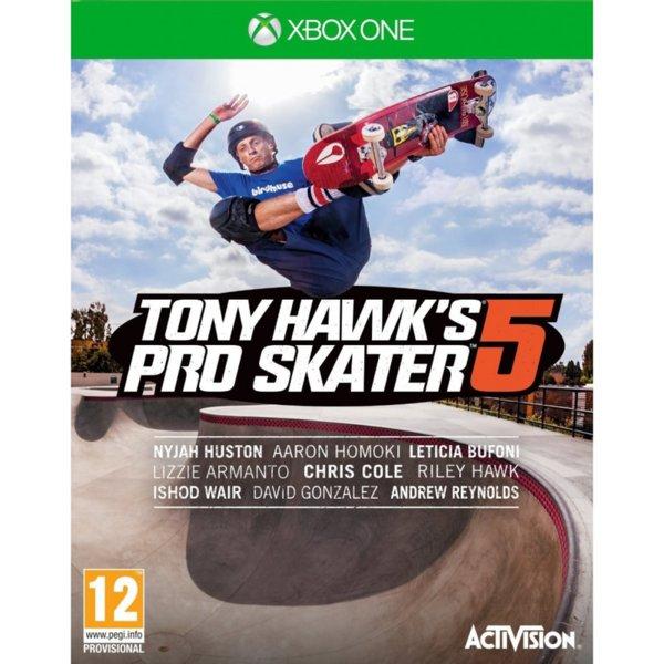 1Игра за Xbox One - Tony Hawk's Pro Skater 5