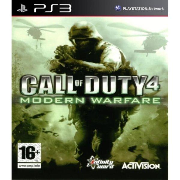 1Игра за PS3 - Call of Duty 4: Modern Warfare