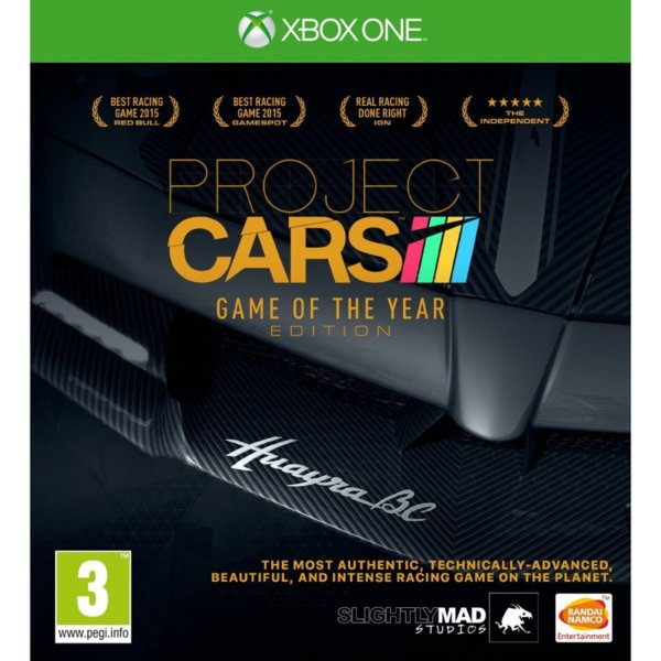 1Игра за Xbox One - Project Cars Game Of The Year Edition