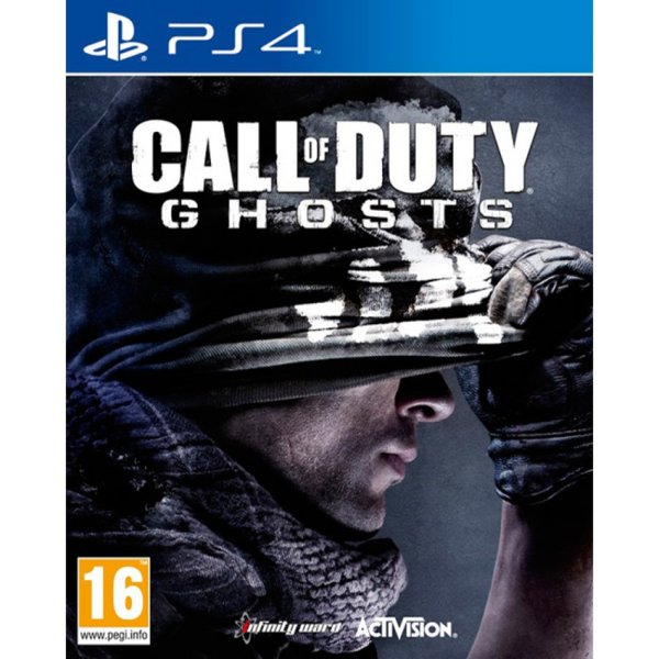 1Игра за PS4 - Call of Duty: Ghosts