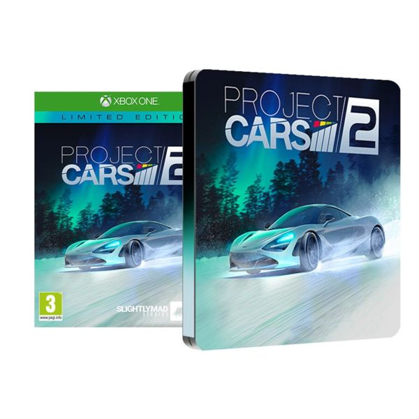 1Игра за Xbox One - Project Cars 2 Limited Edition