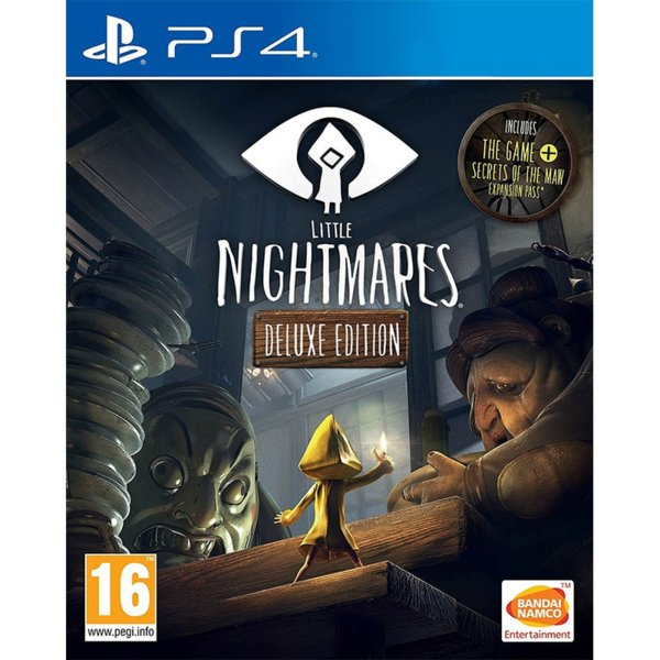 1Игра за PS4 - Little Nightmares Deluxe Edition