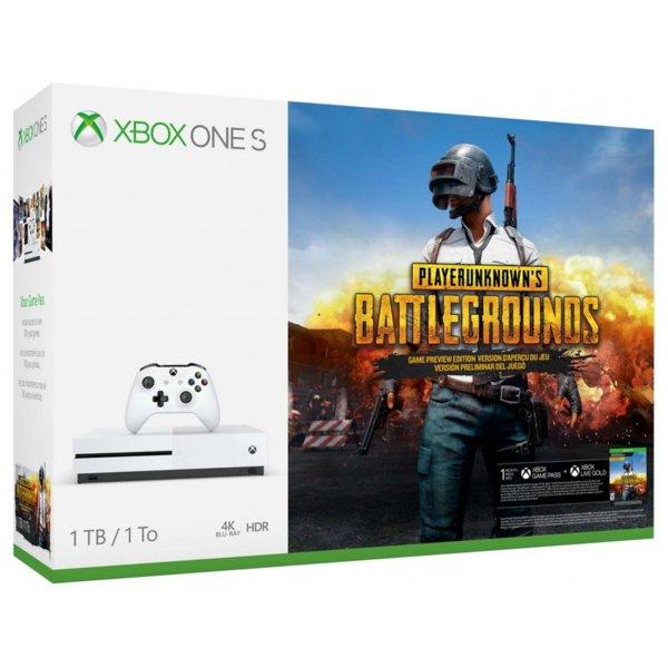 Xbox One S 1TB PUBG Bundle