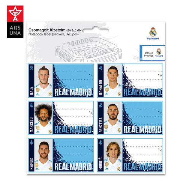 Real Madrid - Ученически етикети Реал Мадрид Ars Una 93838382