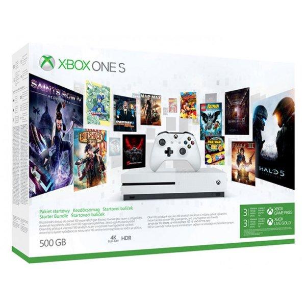 Xbox One S 500GB Starter Bundle