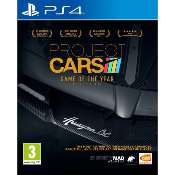 1Игра за PS4 - Project Cars Game Of The Year Edition