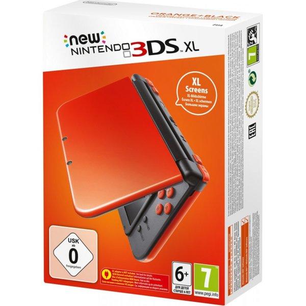 3DS Console XL Orange Black