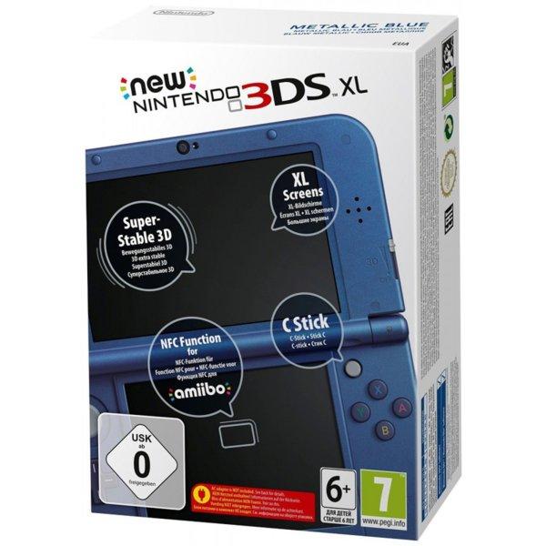 3DS Console XL Metallic Blue