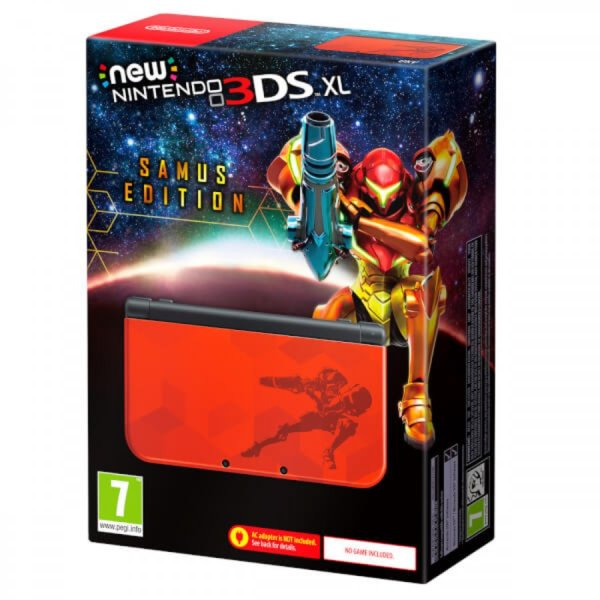 3DS Console XL Samus Edition