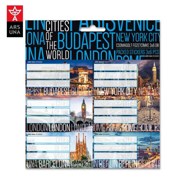 Ars Una - Cities Ученически етикети Ars Una 93838818