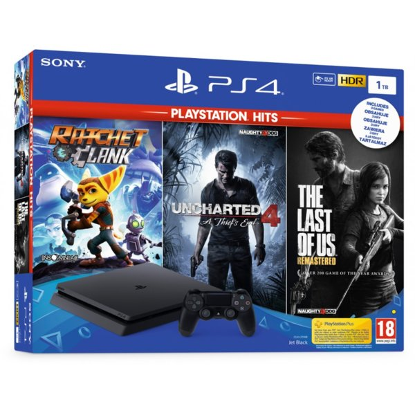 PlayStation 4 1TB Hits Bundle