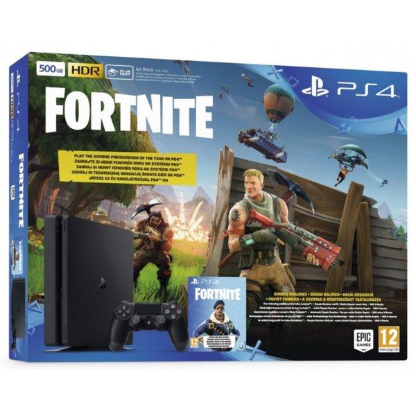 PlayStation 4 500GB + Fortnite