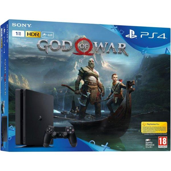 PlayStation 4 1TB + God of War Bundle