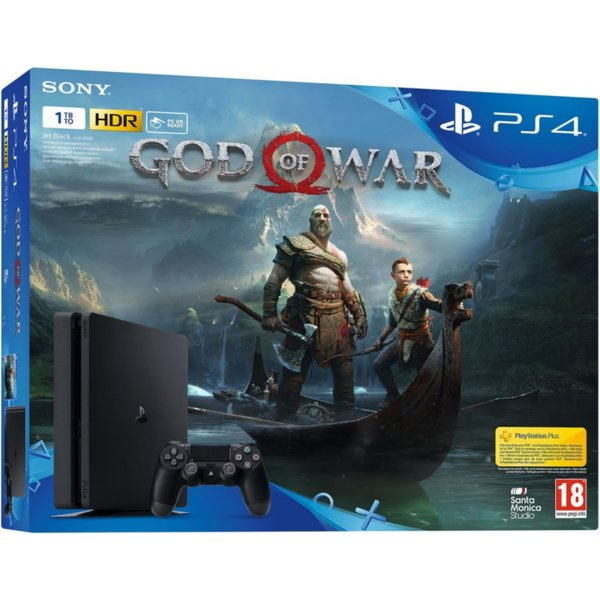 PlayStation 4 1TB + God of War Bundle