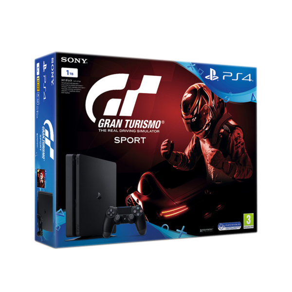 PlayStation 4 1TB + Gran Turismo Sport Bundle
