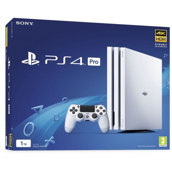 PlayStation 4 Pro 1TB Glacier White + That's You!