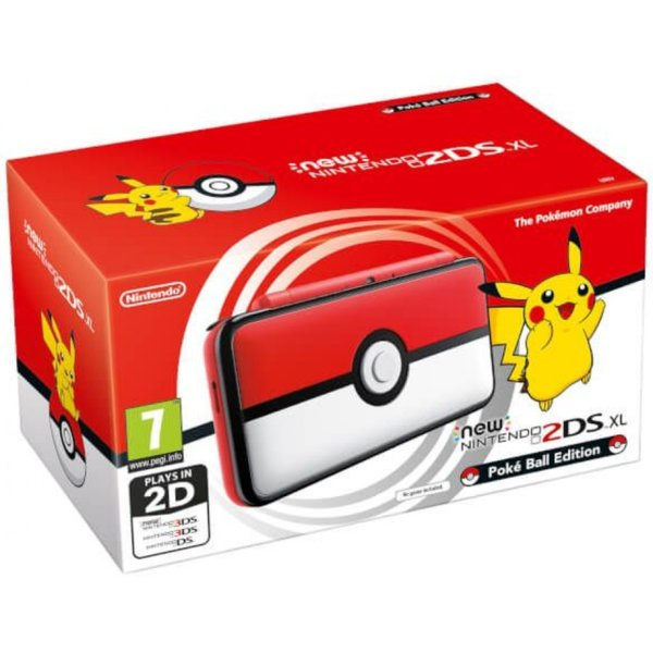 Nintendo 2DS XL Poké Ball Edition