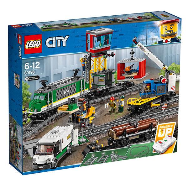 Lego 60198 City - Товарен влак