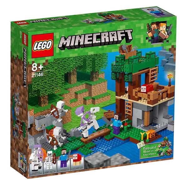 Lego 21146 Minecraft - Нападение на скелет