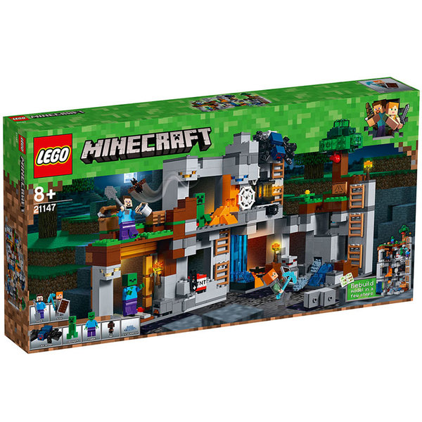 Lego 21147 Minecraft - Каменни приключения