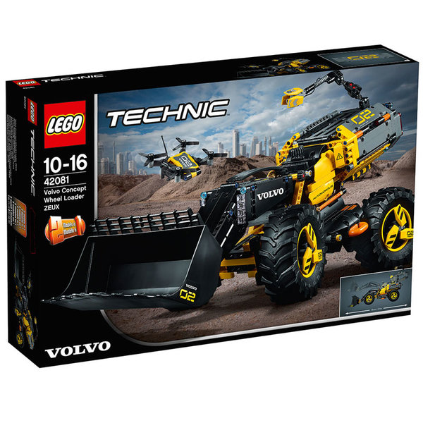 Lego 42081 Technic - Volvo Концепция за колесен товарач