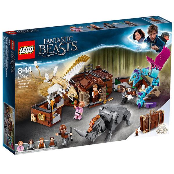 Lego 75952 Harry Potter™ - Сандъкът с магически създания на Нют