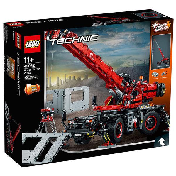 Lego 42082 Technic - Кран за неравен терен