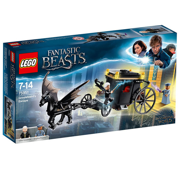 Lego 75951 Harry Potter™ - Бягството на Гриндълуолд