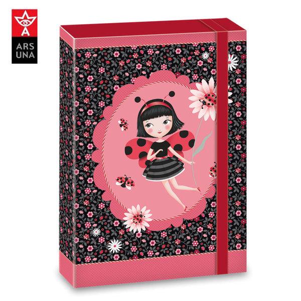 Ars Una - La Coccinelle Кутия с ластик А4 Ars Una 90858390
