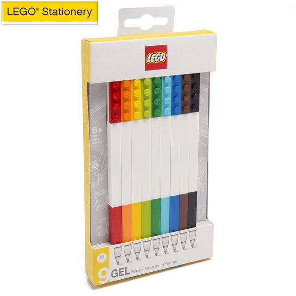 Lego Stationery - Гел химикалки 9 цвята 51482