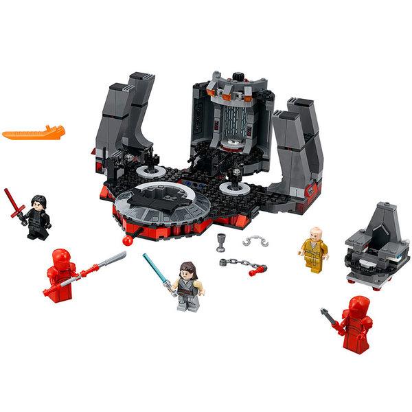 Lego 75216 Star Wars - Тронната зала на Snoke