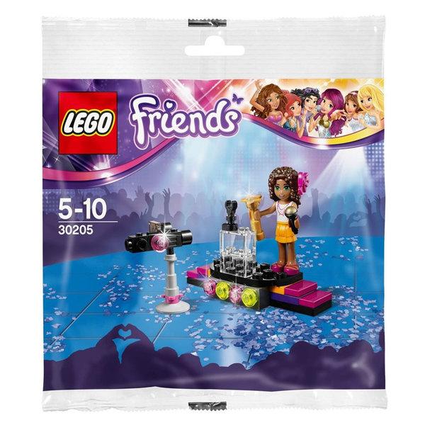 Lego 30205 Friends - Червен килим за поп звезди
