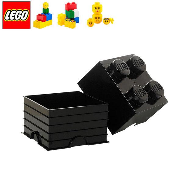 Lego 40031733 Аксесоари - Кутия за играчки 2x2 черна
