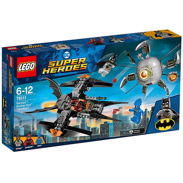 Lego 76111 Super Heroes - Batman Схватка с Brother Eye™