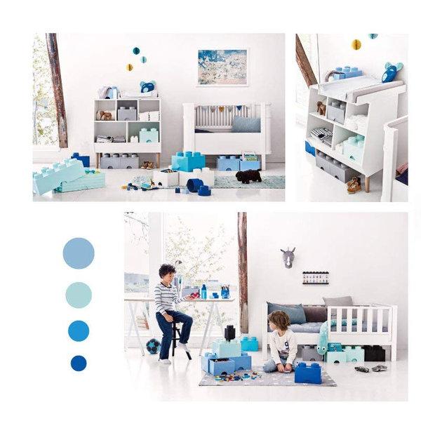 Lego 40031735 Аксесоари - Кутия за играчки 2x2 бяла