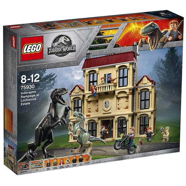 Lego 75930 Jurassic World - Вилнеенето на индораптора в имота Локлуд