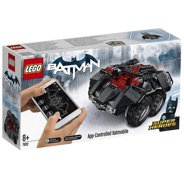Lego 76112 Super Heroes - Batman Батмобил с APP приложение за управление