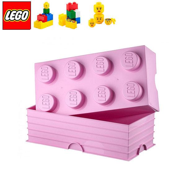Lego 40041738 Аксесоари - Кутия за играчки 2x4 светлолилава