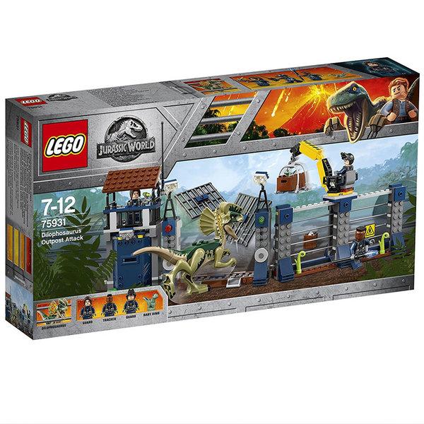 Lego 75931 Jurassic World - Атака на преден пост на Дилофозавър