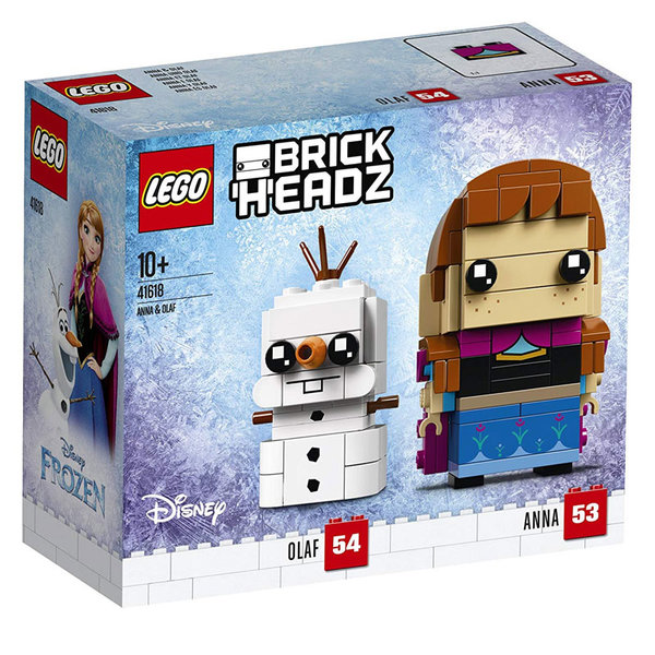 Lego 41618 BrickHeadz - Disney Frozen Анна и Олаф