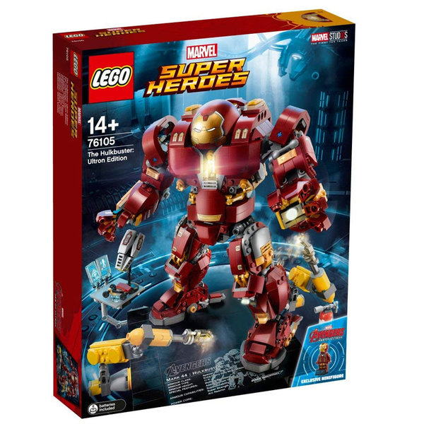 Lego 76105 Super Heroes - Avengers Хълкбъстър Ултрон Едишън