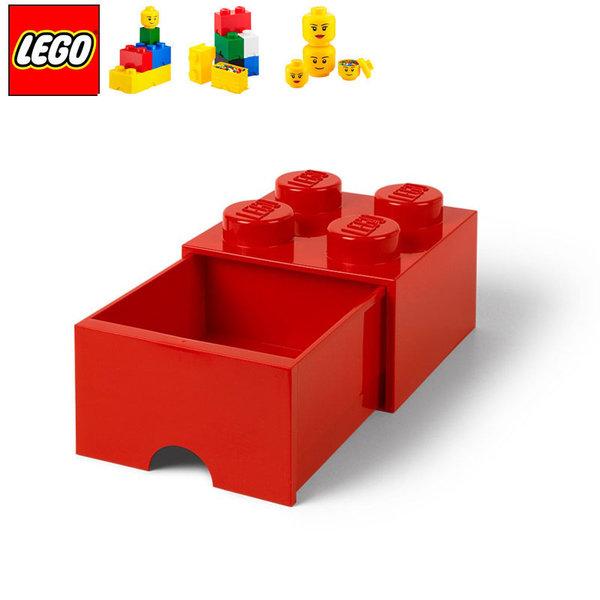 Lego 40051730 Аксесоари - Кутия за играчки чекмедже 2x2 червена