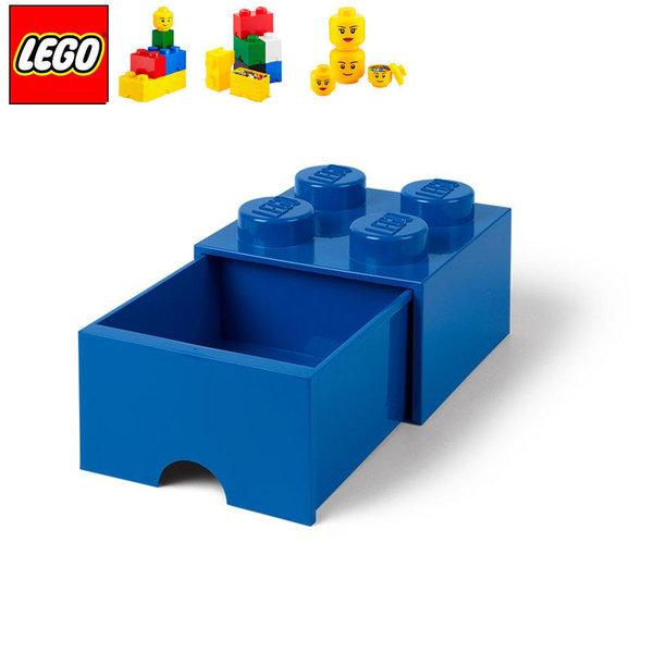 Lego 40051731 Аксесоари - Кутия за играчки чекмедже 2x2 синя