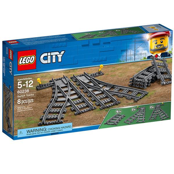 Lego 60238 City - Релси и стрелки