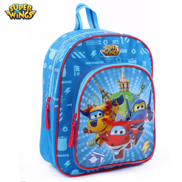 Super Wings - Раница за детска градина Супер Уингс 600-8221