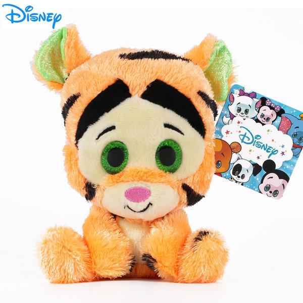 Disney Winnie the Pooh - Плюшена играчка Тигър 15см с блестящи очи 1602243